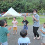 すわこども園お泊りキャンプ2021